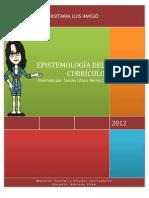 1.0 Epistemología del Currículo