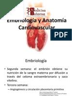 Embriología y Anatomía Cardiovascular