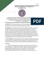 Intelligence Community Directive 704