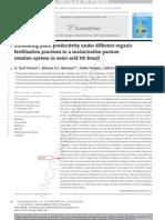 Simulating Plant Productivity COMPAG 2089