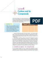 Carbon and Its Compounds Grade 10 Organic Chem Ncert