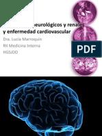 Desórdenes neurológicos y renales y enfermedad cardiovascular