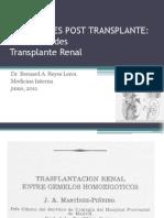 Infecciones Post Transplante