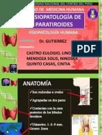 Fisiopatologia de La Paratiroides Final