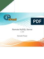 Remote Mysql Server