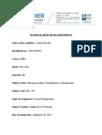 Assignment(Esbm)