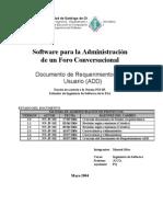 Documento de diseño arquitectonico segun la ESA v 1.1