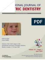Int j of Pediatric Dent 2