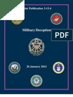 (JCS-MILDEC) Military Deception - Jan 2012