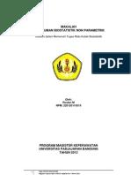 Statistik Non Parametrik SPSS Versi 20