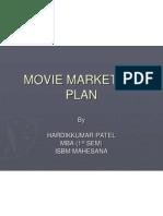 Movie Marketing Plan