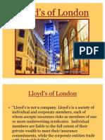 Lloyd s of London Presentation