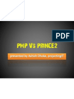 PMP Vs PRINCE2 - by Ashish Dhoke (projectingIT)