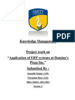 Knowledge Management Project