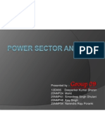 Power Sector Analysis of Indian Economy