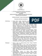 2006-Perpres No 81 Th 2006 Ttg Badan Nasional Penempatan Dan Perlindungan Tenaga Kerja Indonesia