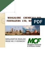 Mangalore Chemicals and Fertilizers Ltd, Mangalore