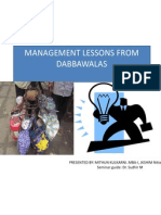 Lessons From Dabbawalas