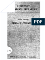 A History of Indian Literature Vol IX Fasc 3 Bengali Literature - J Gonda