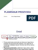 planiranje proizvoda