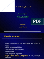 Credit Rating Process