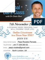 Global Bars with Dr. Dain Heer and Pepa Rosales