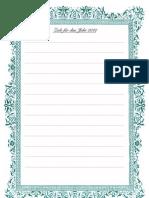 Ziele, Leseliste, Notizen I