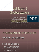 Wal-Mart & Globalization