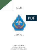 MAKALAH KALOR
