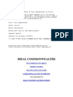 Ideal Commonwealths - Henry Morley