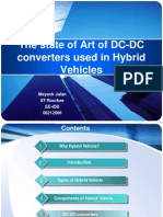 The State of Art of DC-DC Converters Used