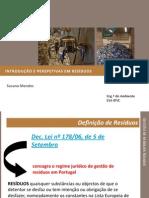 A Gestão dos resíduos sólidos - introdução