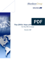 CFOs View of Procurement