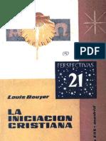 Bouyer, Louis - La Iniciacion Cristiana