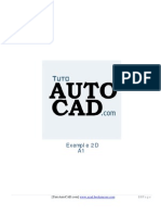 Exercices AutoCAD 2D A1