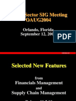Fall 2004 New Features