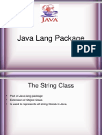 Java Language Package