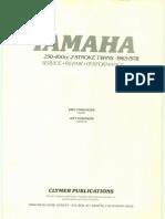 Yamaha RD250-400 1965-1978 Repair Manual