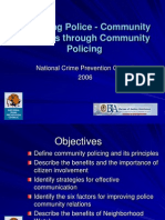 _Improving Police-Community Relations