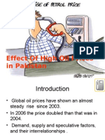 Effect of High Oil Prices in Pakistan Final