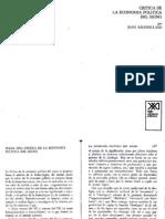 Baudrillard - Hacia Una Critica de La Economia Politica Del Signo