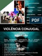 Violência Conjugal - Ppt.