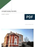 Zmizelé kostely - Kostel sv. Vavřince - J. Pleyer
