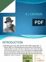 A J CRONIN