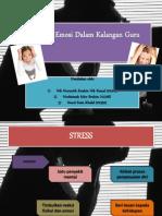 Tekanan Emosi Dalam Kalangan Guru