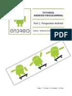 Pengenalan Android dan dasar program android