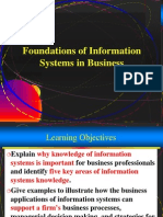 01 - Foundation of Info. Sysytems in Business