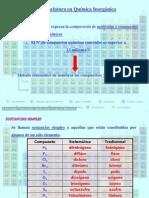 Combinaciones binarias - Formulación