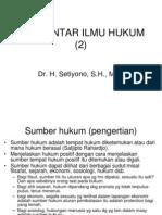 Pengantar Ilmu Hukum (2)