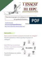 Panorama da pesquisa em catalogação nos programas de pós-graduação brasileiros